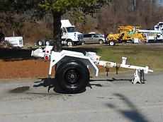 1988 ALLEGHENY PT/4T 4 TON S/A POLE TRAILER