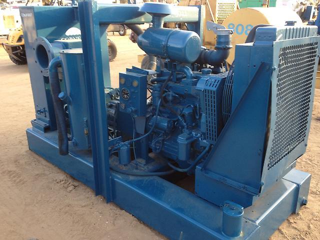 Cornell 12 inch trash water irrigation pump john deere for Diesel irrigation motors for sale