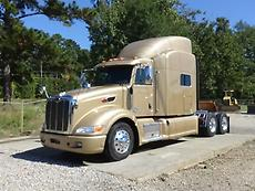 2014 PETERBILT 386 SLEEPER SEMI TRUCK