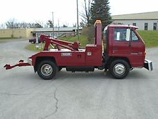 1991 GMC FORWARD CABOVER VULCAN WRECKER