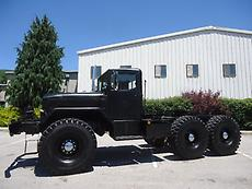 KAISER M52A2 6X6 DAYCAB MILITARY 5 TON TRUCK TRACTOR FIFTH WHEEL WET LINE WINCH