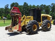 2010 Caterpillar 553 Wheel Feller Buncher Tree Cutter
