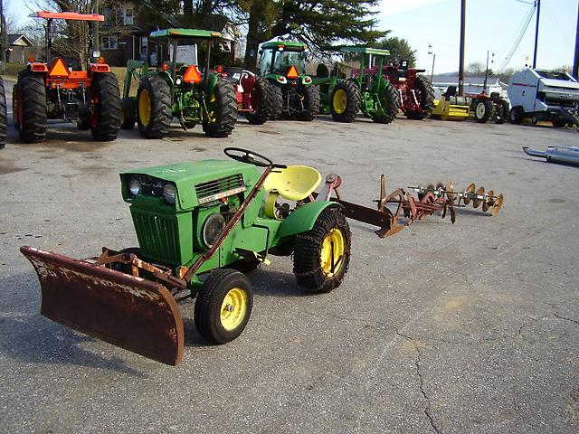 Sears Super 12 Garden Tractor : Nice uesd sears super lawn tractor and equipment ebay