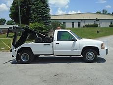 1995 CHEVY SILVERADO 3500 CENTURY SELF-LOADER WRECKER