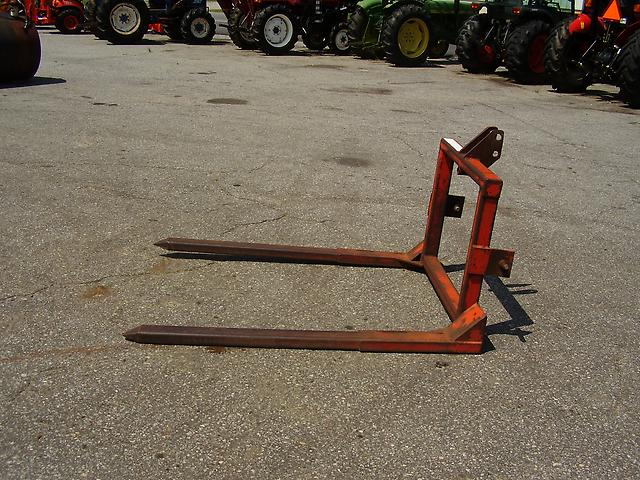 3 Point Hitch Forks : Good point hitch heavy duty hay fork ebay