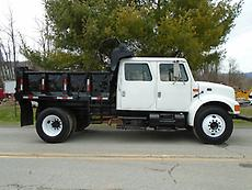 1996 INTERNATIONAL 4700 AUTOMATIC 4DOOR CONTRACTOR DUMP TRUCK