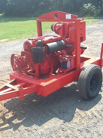 Thompson simple 6 water trash irrigation pump duetz diesel for Diesel irrigation motors for sale