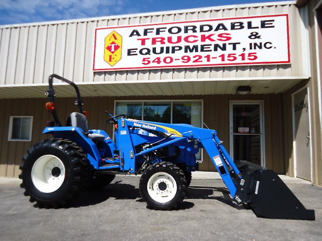 New Holland Compact Utility Tractor : Unused new holland t compact utility tractor