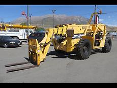 Forward Reach Forklift 2004 Pettibone 10056 4x4x4 10,000 LB 56' Reach Outriggers