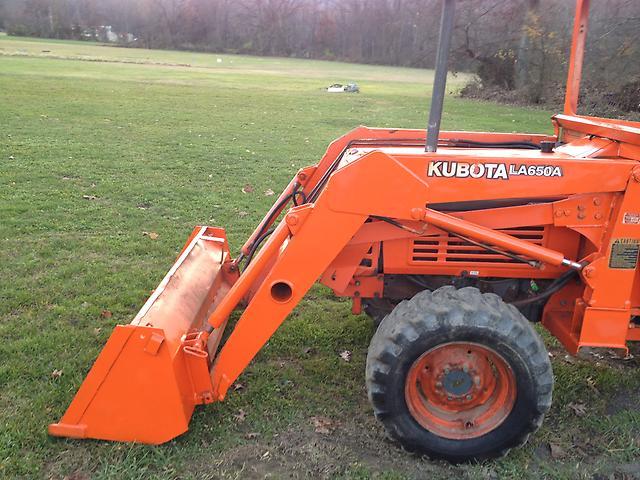 Kubota Three Point Hitch : Kubota l tractor loader three point hitch wd
