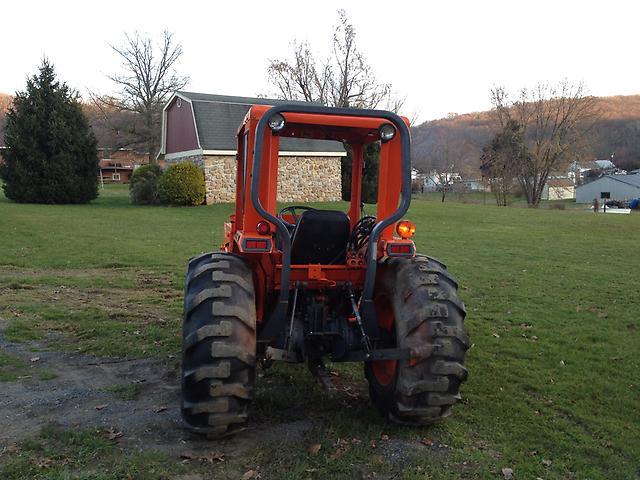 L35 Kubota 3 Point Hitch Pic : Kubota l tractor loader three point hitch wd