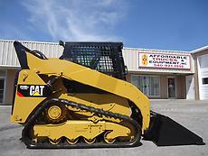 2011 CATERPILLAR 259B3 CAT 259 CAB HEAT A/C 2 SPEED TRAVEL