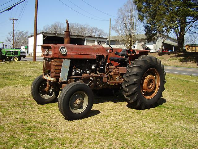 Massey 175 Diesel : Good massey ferguson diesel wd tractor ebay
