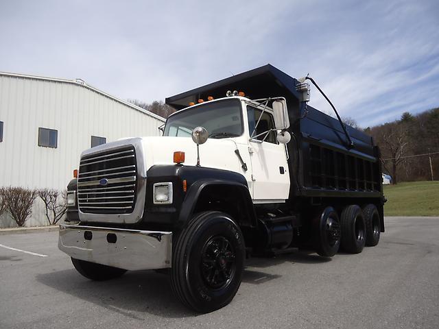 Tri Axle Garbage Truck : Ford l tri axle dump truck