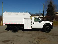 2007 FORD F450 4X4 CHIPPER DUMP TRUCK FORESTRY ARBORIST