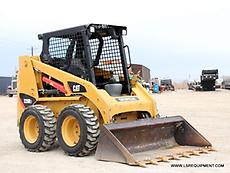 2015 CATERPILLAR 226B3 SKID STEER- SKID LOADER- LOADER- CAT- BOBCAT- 21 PICS