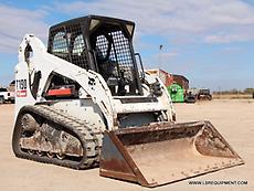 2011 BOBCAT T190 SKID STEER- TRACK SKID STEER- SKID LOADER- BOBCAT- CAT- 22 PICS