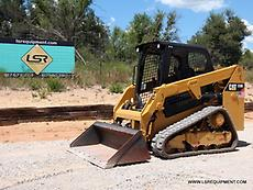 2015 CATERPILLAR 239D SKID STEER- SKID LOADER- TRACK SKID STEER- CAT - 33 PICS