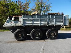 ALVIS STALWART MK2 6X6 AMPHIBIOUS TRUCK AND LOAD CARRIER
