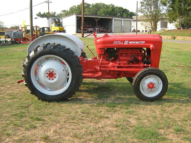 Ford 601 Workmaster Tractor : Very nice ford work master wd gas tractor ebay