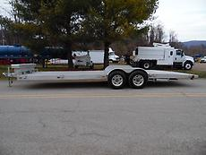2015 HOMEMADE 28' 6000 LB CAP. EQUIPMENT TRAILER