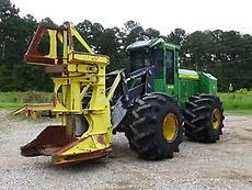 2013 John Deere 643K Wheel Feller Buncher Tree Cutter