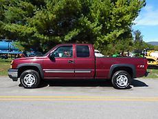 2003 CHEVY SILVERADO Z71 4 WHEEL DRIVE EXTENDED CAB