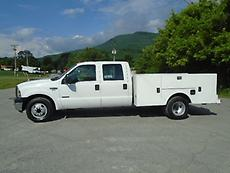2005 FORD 350 XL 4-DOOR DUALLY SERVICE TRUCK