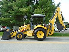 2003 NEW HOLLAND B95 4X4 BACKHOE LOADER