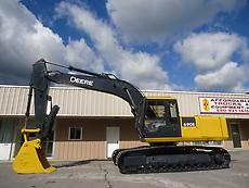 JOHN DEERE 690E LC HYDRAULIC EXCAVATOR TRACKHOE WITH THUMB AUXILIARY HYDRAULICS