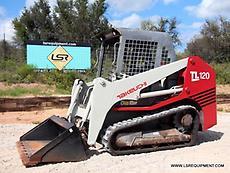 2008 TAKEUCHI TL120 SKID STEER- TRACK STEER - SKID LOADER- LOADER- CAT- 23 PICS