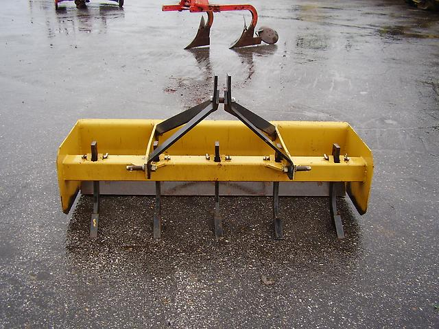 3 Point Hitch Ripper : Nice ft point hitch box blade with ripper teeth ebay