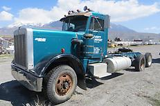 REPO Semi Truck Tractor Peterbilt 359A Tandem PARTS OR REPAIR, MUST GO!