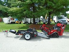 2013 TORO STX-26 CRAWLER WALK BEHIND STUMP GRINDER W/ TRAILER