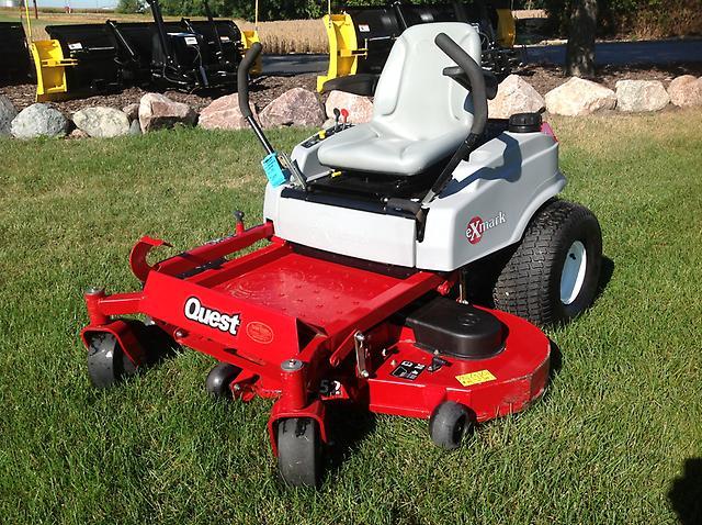 2008 Exmark Quest 52 U0026quot  Zero Turn Riding Lawn Mower