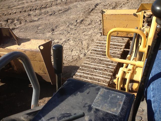 Komatsu D20P Crawler Tractor Dozer 6 Way Blade Loader Tractor Loader
