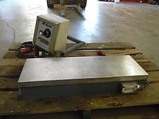 O.S. WALKER MAGNETIC SURFACE GRINDER CHUCK  W/ MAGNETIC CHUCK CONTROL
