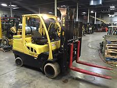 2008 HYSTER S120FT. LP Gas Forklift. ONLY 4240 Hours. 12000 Lb Capacity