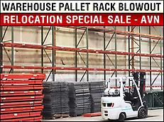 Pallet Rack - Warehouse Relocation