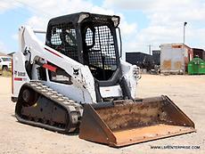 2014 BOBCAT T590 SKID STEER- TRACK SKID STEER- SKID LOADER- BOBCAT- CAT- 22 PICS