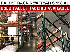PALLET RACKING NEW YEAR SPECIAL
