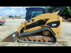 2008 Caterpillar 289C Skid Steer Loader