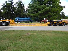 1988 HOLDEN RGN HPD60 60 TON DROP SIDE LOWBOY TRAILER FOR USE WITH WETLINE