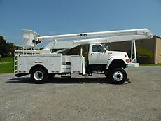 1997 FORD F-SERIES 4X4 ALTEC AN755 BOOM/BUCKET SERVICE TRUCK