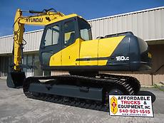 2003 HYUNDAI ROBEX 160 LC-3 HYDRAULIC THUMB CAB WITH HEAT AND A/C