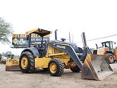 2012 JOHN DEERE 210K SKIP LOADER- BOX BLADE- TRACTOR- LOADER- DEERE- 24 PICS