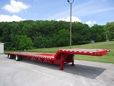 2004 TRAIL KING TK70LCS 35 TON LO-PRO LOW PROFILE 53 FT X 102 STEP DECK TRAILER