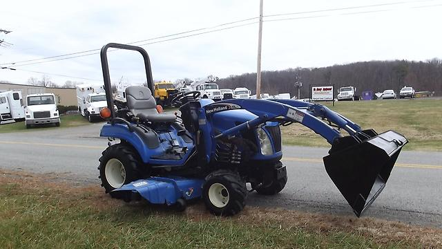 New Holland Compact Utility Tractor : New holland tz da utility tractor la compact