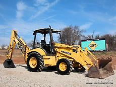 2006 KOMATSU WB140-2 BACKHOE- LOADER BACKHOE- BACKHOE-LOADER- DEERE- CAT- 25 PIC