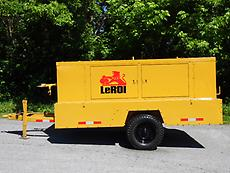 LEROI DRESSER CFM 260 TOWABLE AIR COMPRESSOR